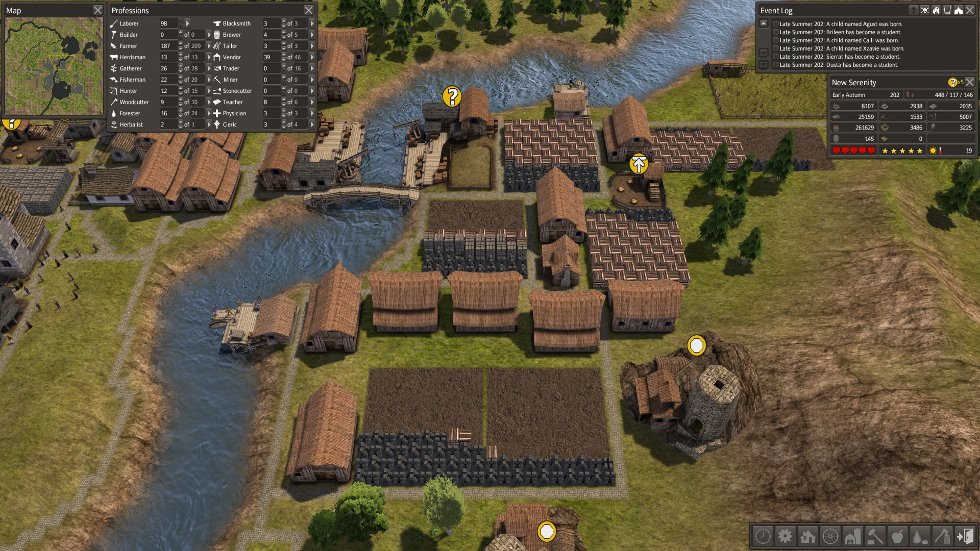 Banished, Warehouses - by roman-reviews